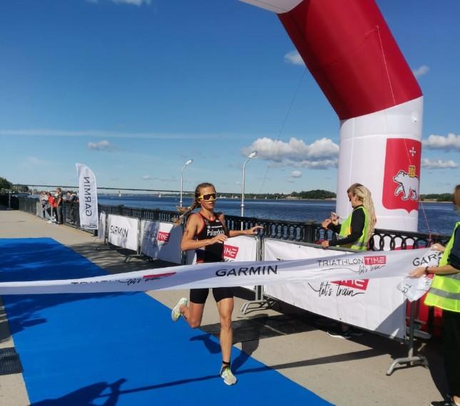 Анастасия Полянская – победительница Кубка России по спринт-триатлону