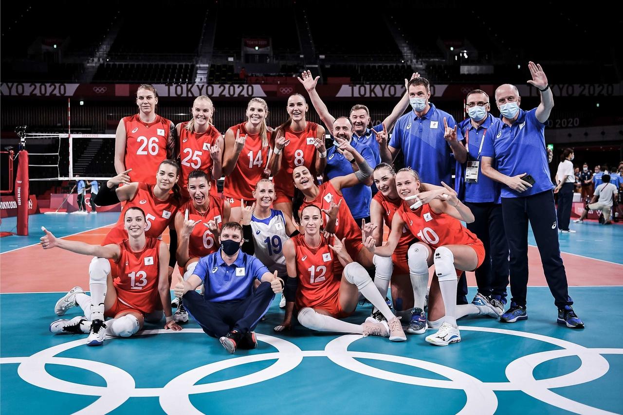 Игрок «Енисея» Дарья Пилипенко в составе России победила Аргентину на Олимпиаде